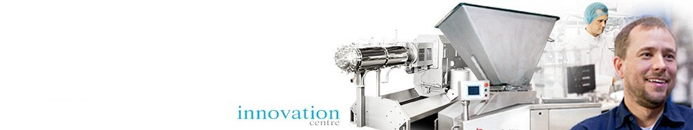 <b>Innovation Centre</b><p>Develop new products, produce samples and conduct feasibility trials.