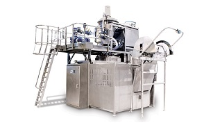 Industrial bakery equipment Tweedy 2 mixing systems