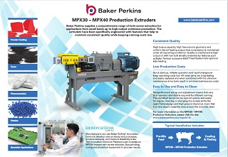 eSheet: MPX30 – MPX40 Production Extruders